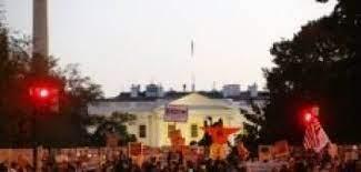 Photo of হোয়াইট হাউজের সামনে মোদীবিরোধী বিক্ষোভ